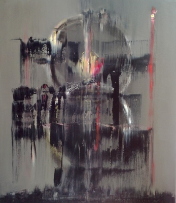 Robots • Robot, 2013, Oil on canvas, 140 x 120cm