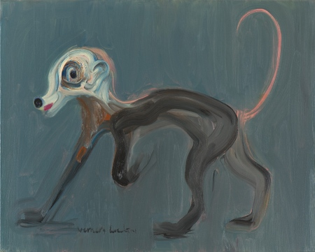 Mērkaķsuns • Monkey Dog, 2009, Oil on canvas, 80 x 100 cm