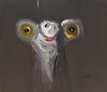 Lemurs • Potto, 2009, Oil on canvas, 120 x 140cm