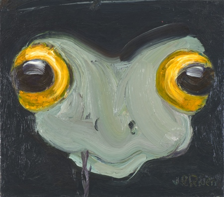 Varde • Frog, 2009, Oil on canvas, 40 x 50 cm