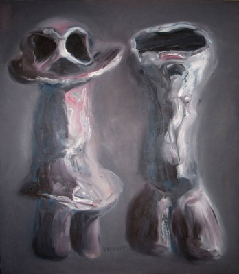 Lelles • Dolls, 2012, Oil on canvas, 140 x 120cm